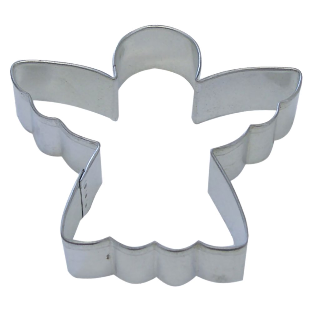 angel cookie cutter 325 in b1131x - Metal Christmas Cookie Cutters