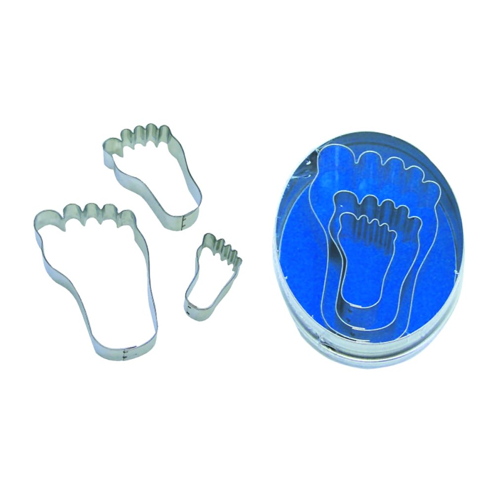 Baby Feet Cookie Cutter Set 3 Pc L1944