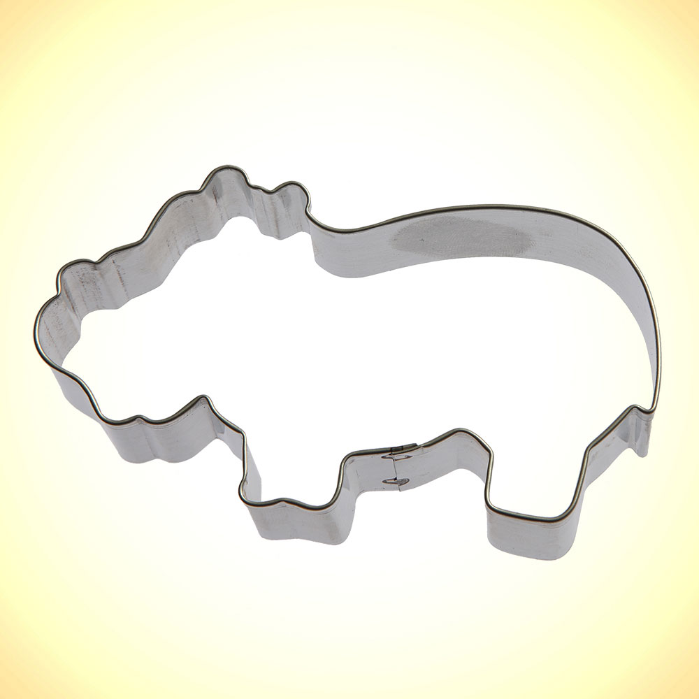 Hippo Cookie Cutter 4 in | Cookie Cutter Experts Since 1993