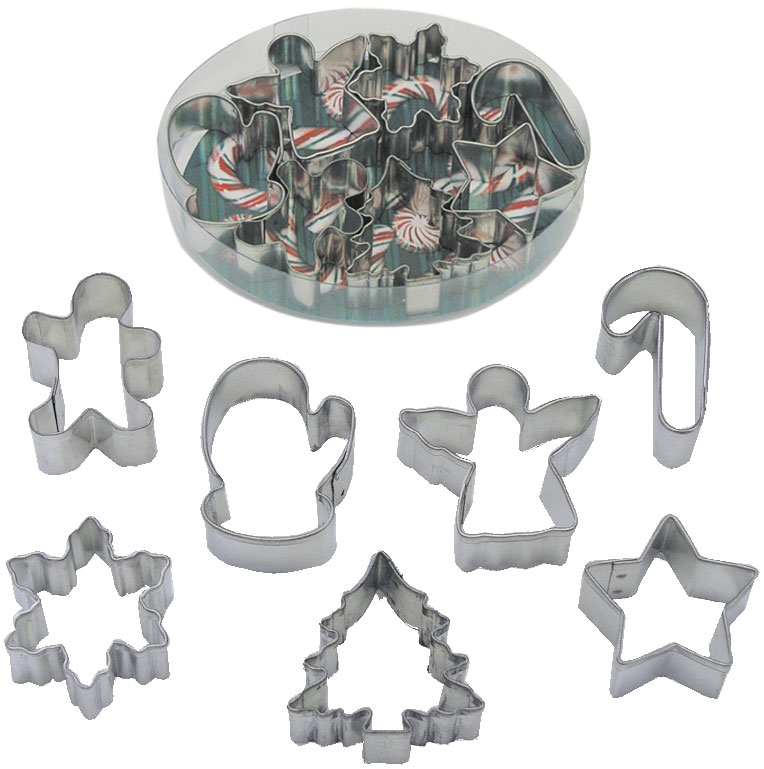 Miniature Christmas Cookie cutters