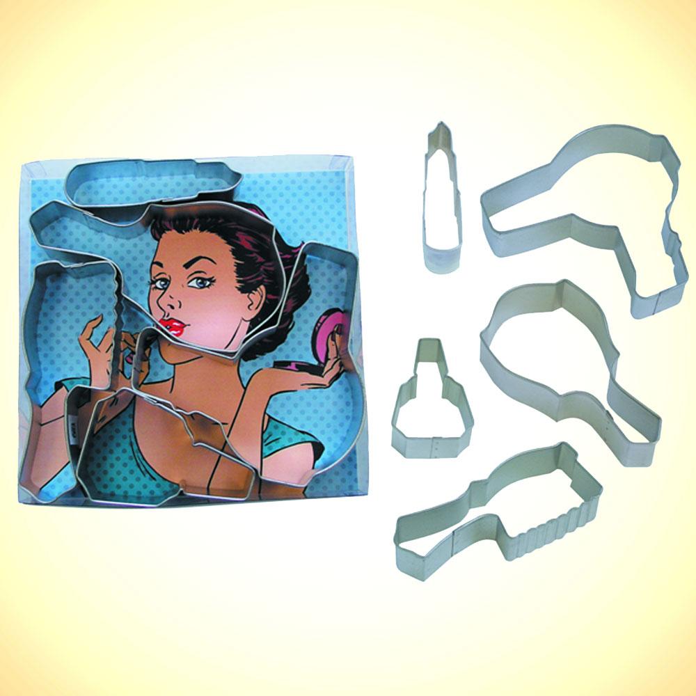 Hair Dryer 4/'/' Cookie Cutter