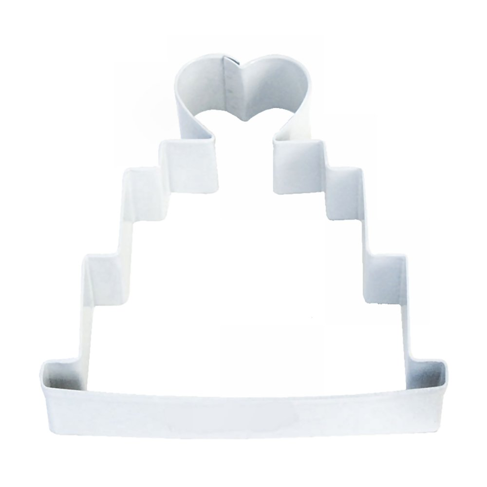 Wedding Cake White Cookie Cutter | Cookie Cutter Experts